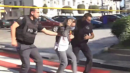 Georgia: Armed man takes hostages at bank in Zugdidi