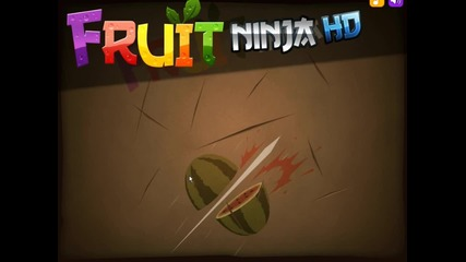 Fruit Ninja -blades and Backgrounds