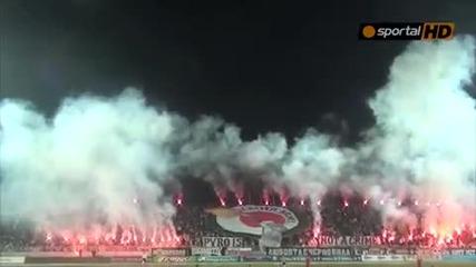 Локомотив (пловдив) - Цска (софия) 1:0 Ултрас Пловдив Хорео