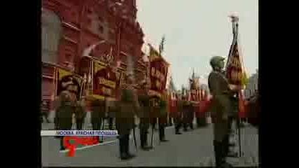 Гимн России Поют Солдаты. Парад На Красной Площади
