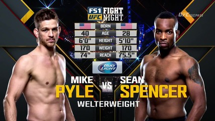 Mike Pyle vs Sean Spencer (ufc Fight Night 82, 06.02.2016)
