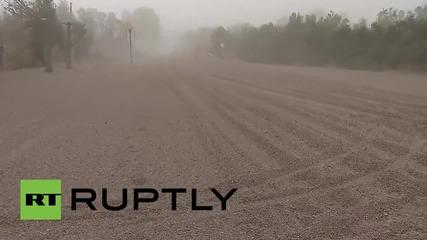 Изригването на вулкана Калбуко води до изоставянето на близкия град и потъването му в пепел
