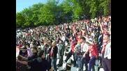 Цска 2 - 2 Черно Море (09.05.2010) - На вашето знаме е Юда !