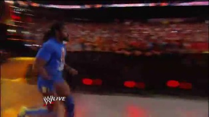 Booker T saves Teddy Long from Mark Henry and joins Team Teddy at Wrestlemania!
