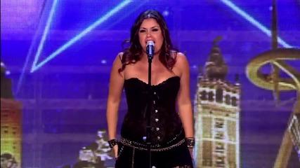 Тази жена ще ви вземе акъла .. Cristina Ramos. От опера мина на Рок