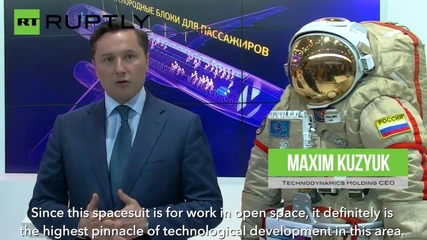 Check Out Russia's New Advanced Space Suit