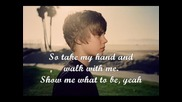 текст и превод - Justin Bieber - Where Are You Now