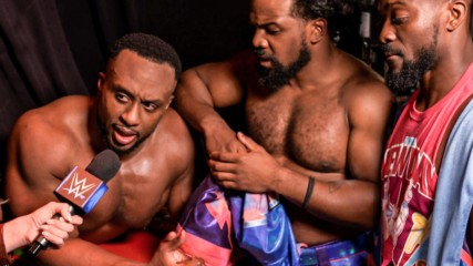 The New Day celebrate statement victory: WWE.com Exclusive, Oct. 18, 2019