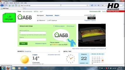 Firefox vs. Google Chrome - Тест за бързина - marioni95 Hd