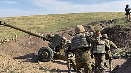 Nagorno-Karabakh: Fighting continues for third day despite global calls for ceasefire