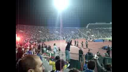 Левски - Челси - Публиката