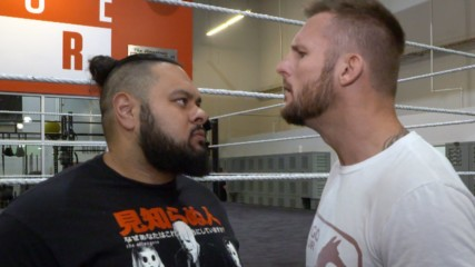 Bronson Reed challenges Shane Thorne to a match: WWE.com Exclusive, Aug. 20, 2019