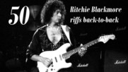 50 Riffs of Ritchie Blackmore