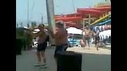 Пайката В Aqua Park - Несебър