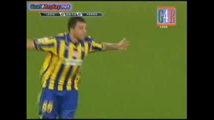 Божинов с първи гол за Парма