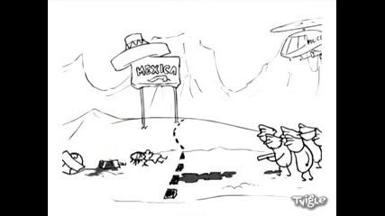 Полиция vs. Затворник (xpyc Team)