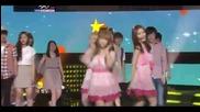 Hq 110624 Secret - Starlight Moonlight Music Bank June 24, 2011