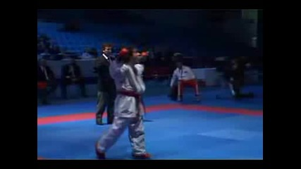 Wkf Karate Aghayev Final 2007 Ekf European Championship