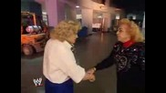 Mickie James And Mae Young Kiss
