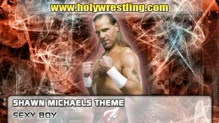 Shawn Michaels theme - sexy Boy