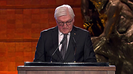Israel: 'I wish I could say Germans have learned' - Steinmeier at Holocaust Forum