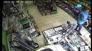 Отново разпространиха видео на крадли в магазин