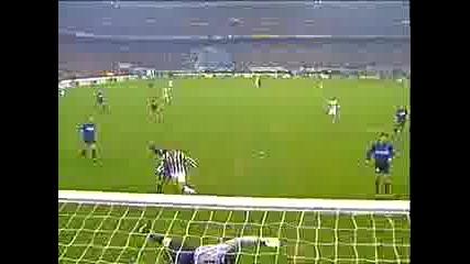Inter - Juve Trezeguet Gool
