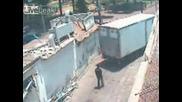 Заснет от Охранителна Камера взрив !