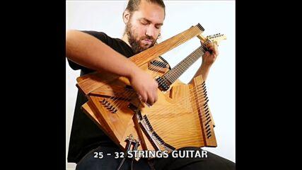 Nicolas Bras - 72 Homemade Instruments In 7 Minutes