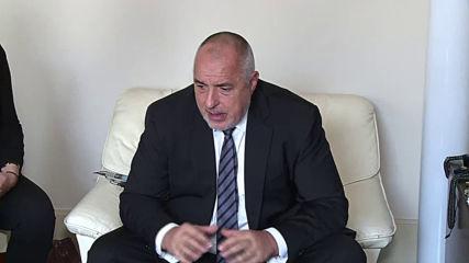 Борисов: Ценим приноса на Германия към операциите на българските граници