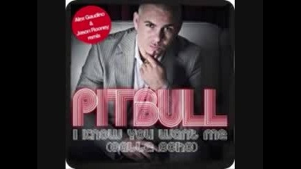 Pitbull I Know You Want Me (calle Ocho) (alex Gaudino Jaso