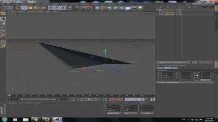 Cinema 4d - Урок 3 Моделиране със сплайн
