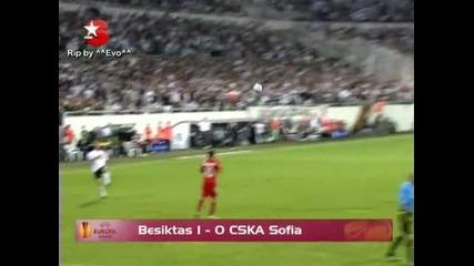 Бешикташ - Цска 1:0 Лига Европа