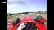 Алонсо във Ферари F10