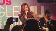 Прекрасна !! Деми Ловато на живо изпълнява - How to love !!