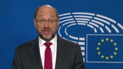 Belgium: 'It will not be easy' - EU's Schulz on Donald Trump's victory