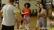 Роналдо се учи на Gangnam Style