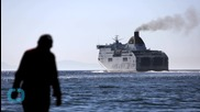 At Greek Port, Migrants Dream and Despair