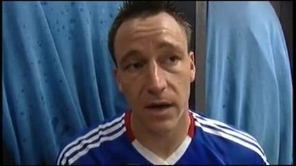 John Terry on winning the double