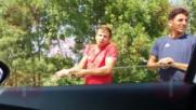 Роми продават незаконно риба край Приморско