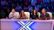 Методи, Борислав и Георги - Искам да съм рапер - X Factor Bulgaria (23.09.2014)