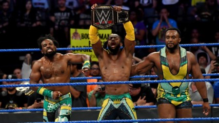 The New Day face off against KO, Sami Zayn, and Dolph Ziggler : Wal3ooha, 13 June 2019