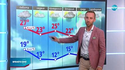 Прогноза за времето (27.09.2020 - централна емисия)