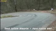 Julien Maurin - Ford Fiesta Wrc M Sport - Monte Carlo 2013