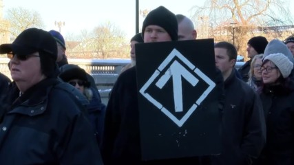 Sweden: 10 counter-protesters arrested after scuffles at far-right march in Stockholm
