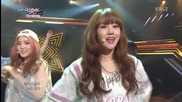 140411 4minute - Whatcha Doin' Today @ Music Bank
