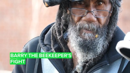 Barry the bee whisperer's most important fight yet