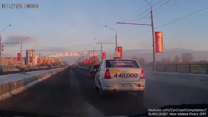 Car Crash Compilation # 429 - December 2014