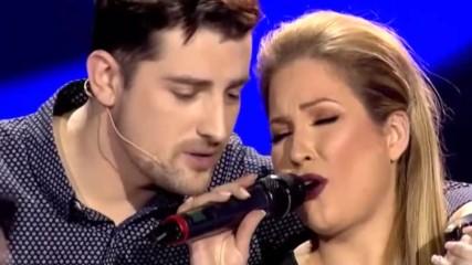 Mirza Selimovic i Dunja Vujadinovic - Da se opet rodim (grand Production - Live)