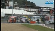 Bagarre championnat Truck Racing Zolder 2011